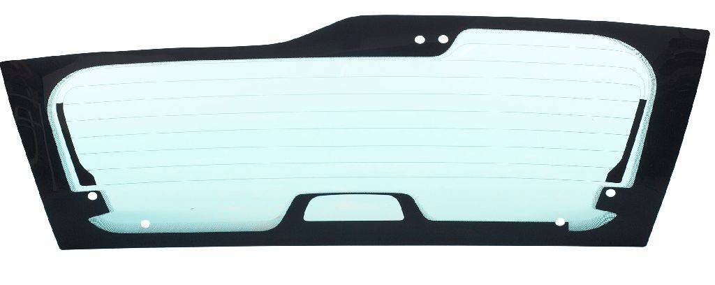 Tempered rear window