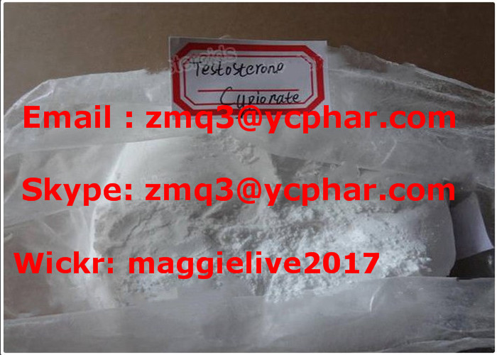 Top Purity Bodybuilding Powder Testosterone Cypionate/Test Cyp Factory Price (CAS: 58-20-8)