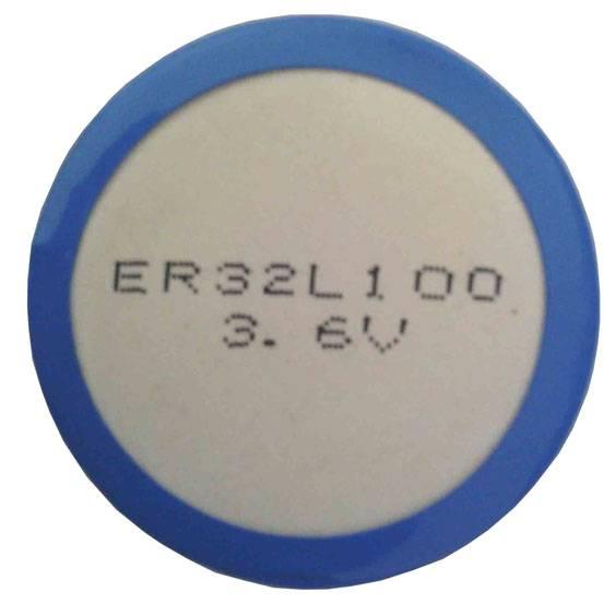 ER32L100 1700mAh 3.6V Coin type LiSOCL2 battery