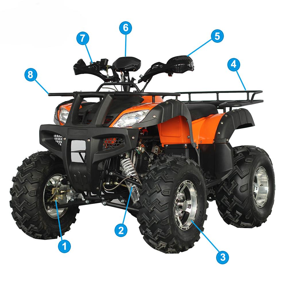 MZYR Mini Jeep Racing 150CC 200CC Quad ATV Engine Parts