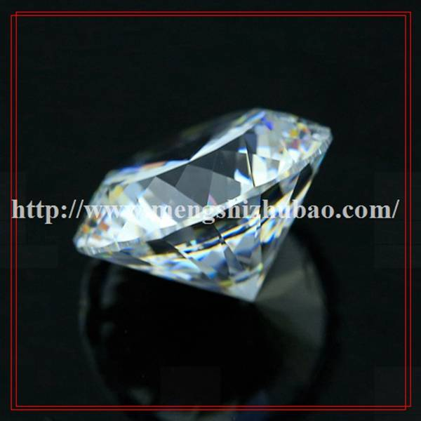 7mm Whtie Round Briliant Cut CZ Synthetic Diamonds