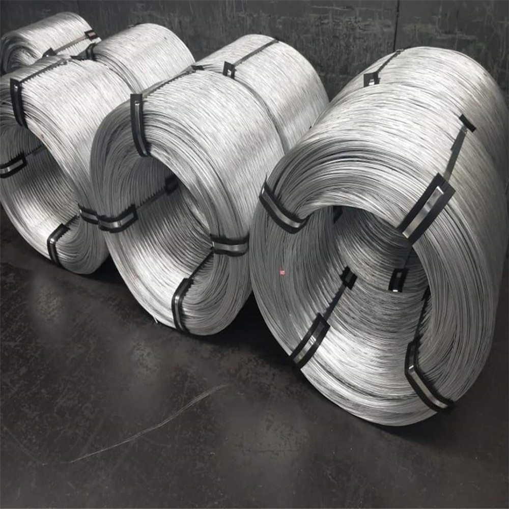 100% New High Qualty 7/0.4mm Galvanized Steel Wire for Power Cabe