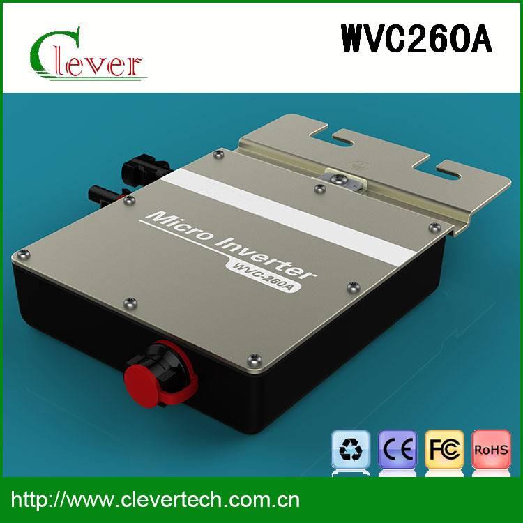 High quality mini solar grid inverter wvc260a 25 years lifetime waterproof ip67