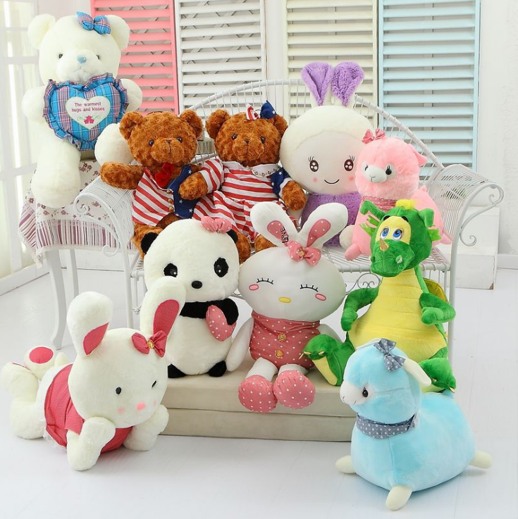 Wholesale Kids' Stuffed Toys Dolls of all kinds Shapes