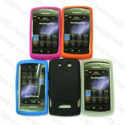 Silicone Skin Case for Blackberry Storm 9500