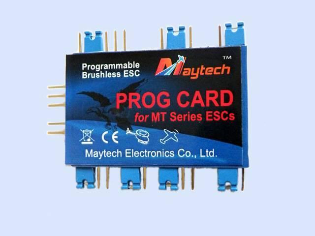 MayTech Brushless speed controller (ESC) Programming Card