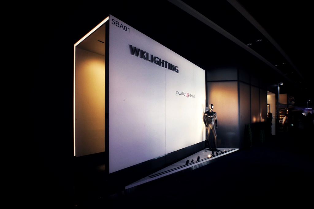stylish booth design for exhbiition