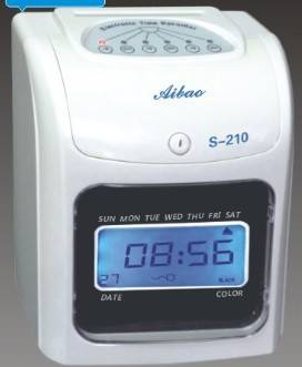 popular time  recorder S-210