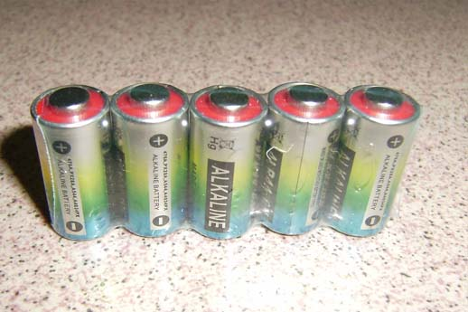 Dog collar batteries 4LR44 476A 6V alkaline cells