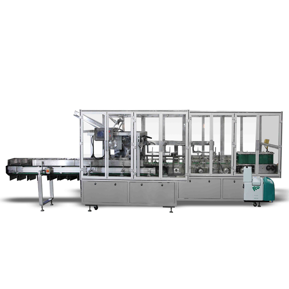Automatic Cartoning Machine For Biscuit
