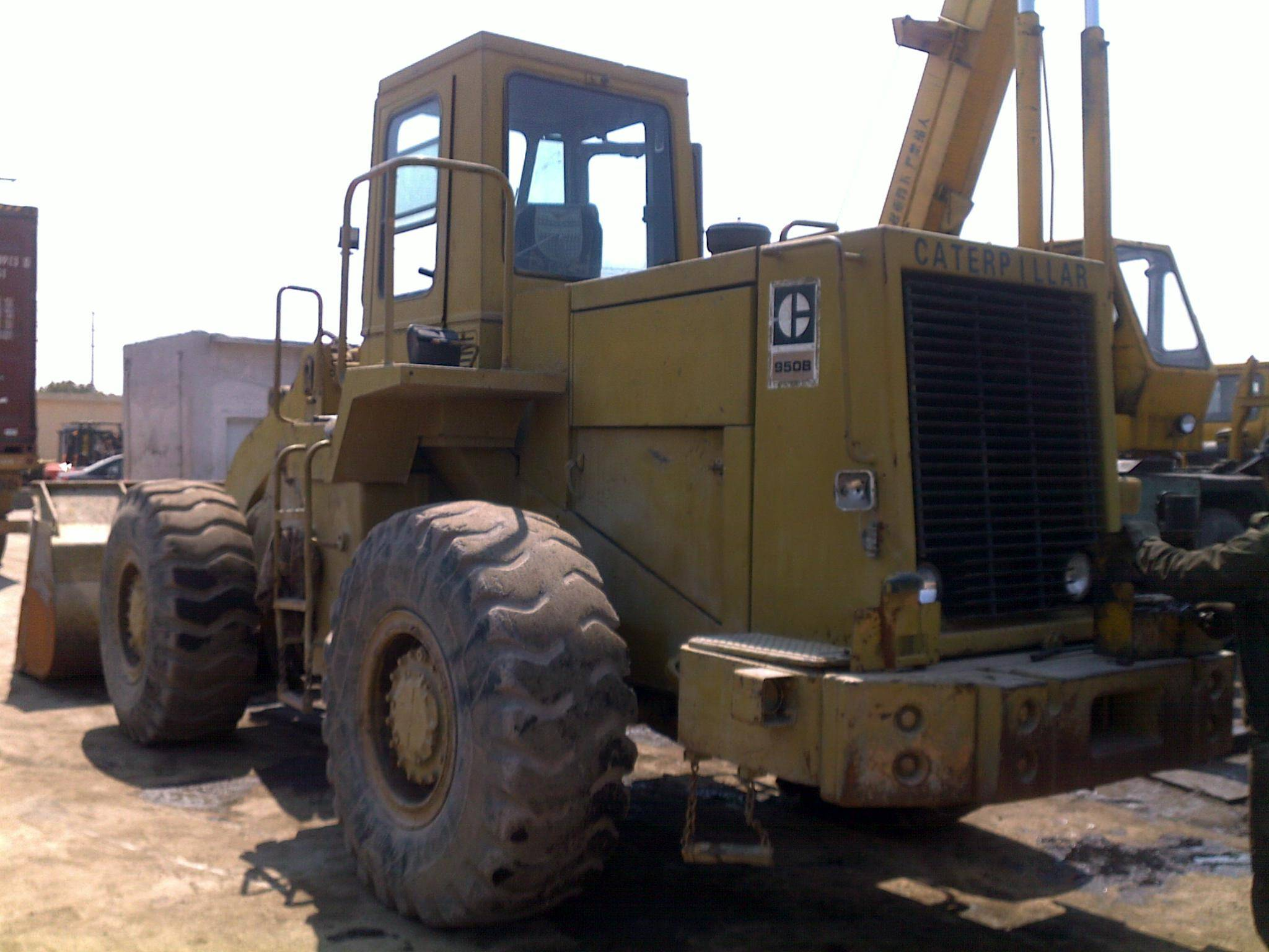 CAT 950B wheel loaders, caterpillar 950B wheel loaders