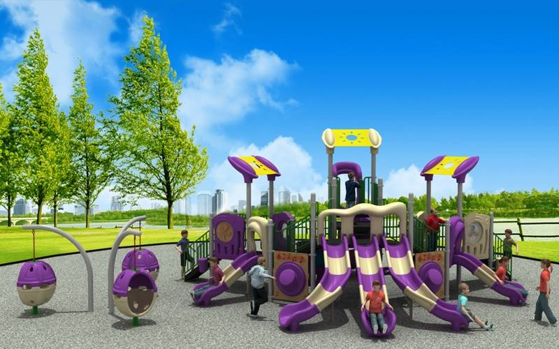Reliable Reputation Playground Equipment Outdoor Slide Modern Series WD-XD110
