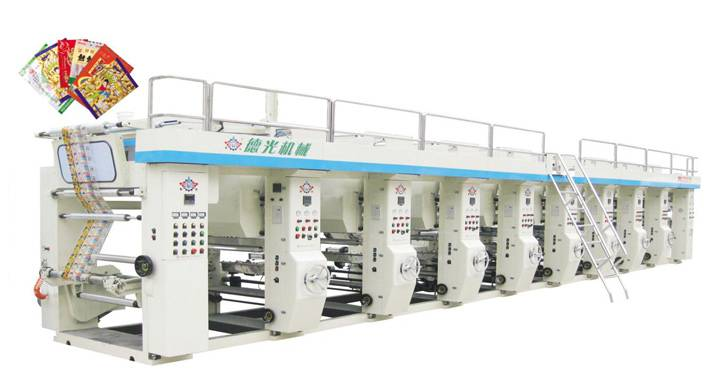 Multi-color Gravure Printing Press