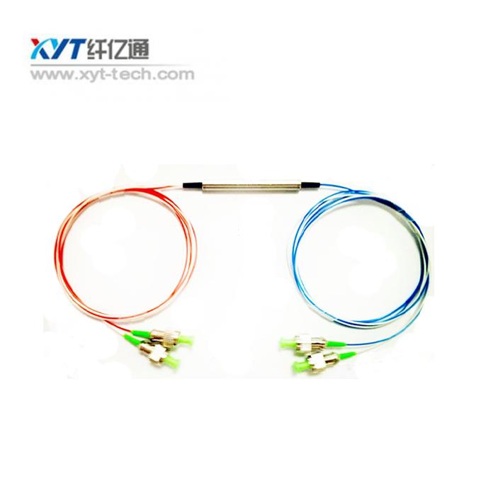 2X2 Polarization Insensitive Circulator 4 ports optical circulator EDFA/OTDR measurement,1310nm or 1