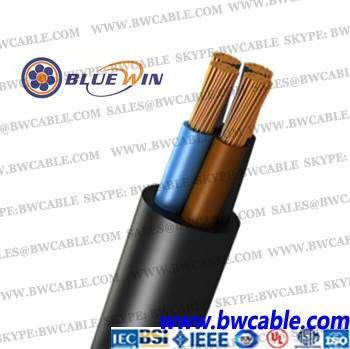 H07RN-F Rubber Cable neoprene cable 450/750V flexible