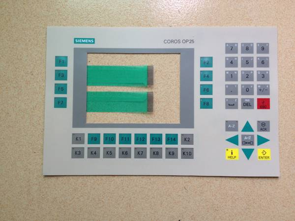 Membran keypad for OP25 REPAIR