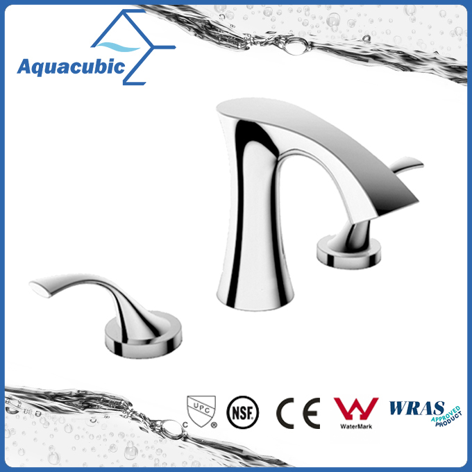 Fashionable 3 hole wash basin brass faucet for the bathroom (AF8246-6)