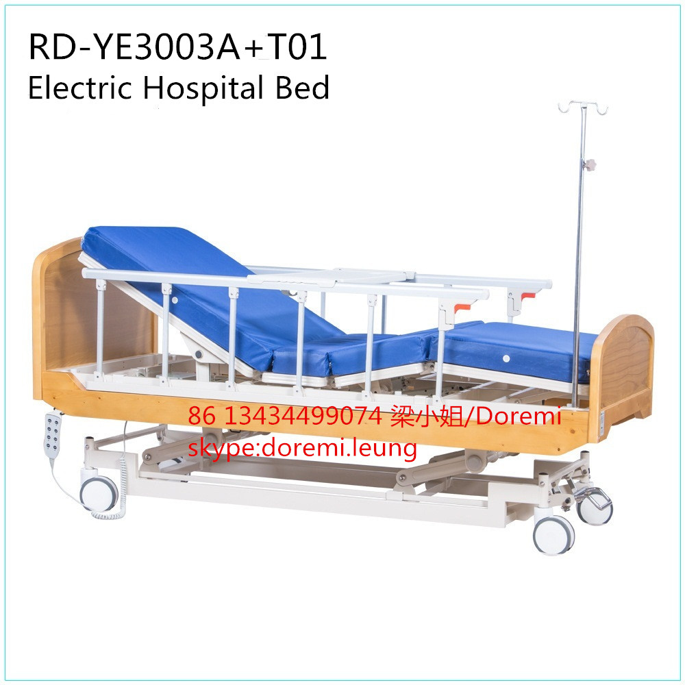 RD-YE3003A+T01 New Style Electric Adjustable Bed Home Care Bed Nursing Bed