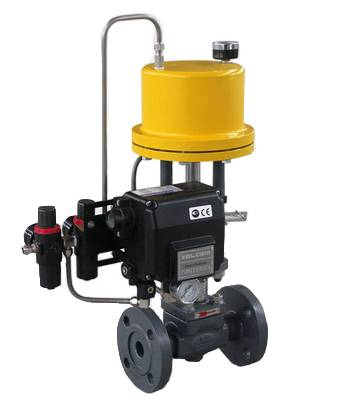Single Seated Control Valves with Steam Jacket