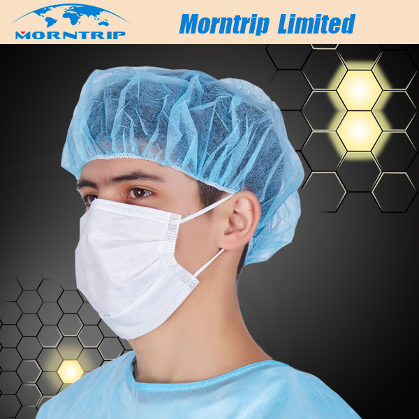Nonwoven Disposable Earloop Face Mask