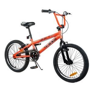 Tauki 20 Inch BMX Freestyle Boy Bike,Orange