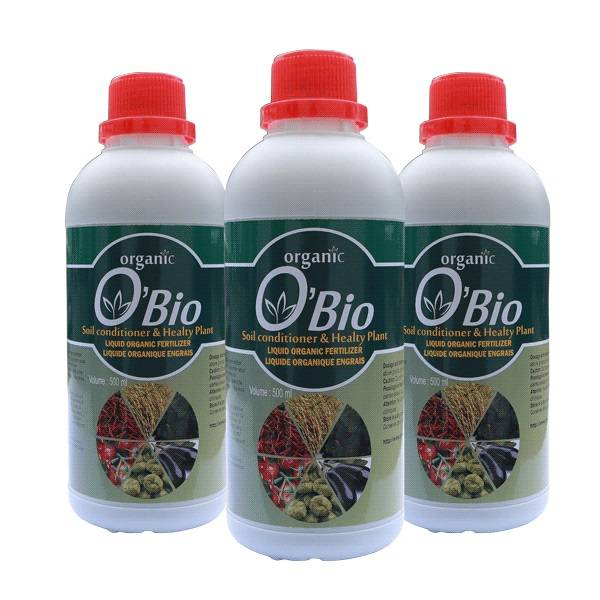 "Liquid Organic Fertilizer ""O'BIO"""
