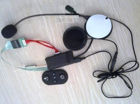 Motorcycle Bluetooth Intercom Headset for Helmet  800m HF-HM588