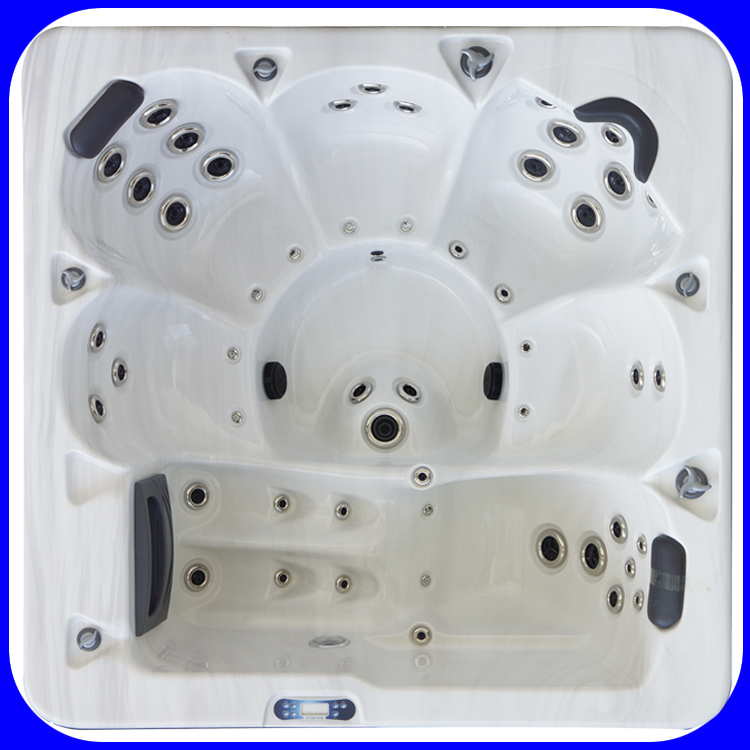big model for 6 person home use backyard hot tub(Monkey model)