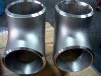304 alloy steel thick-walled tee pipe fittings made in China