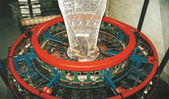 4 shuttle Circular Loom for Mesh Bag