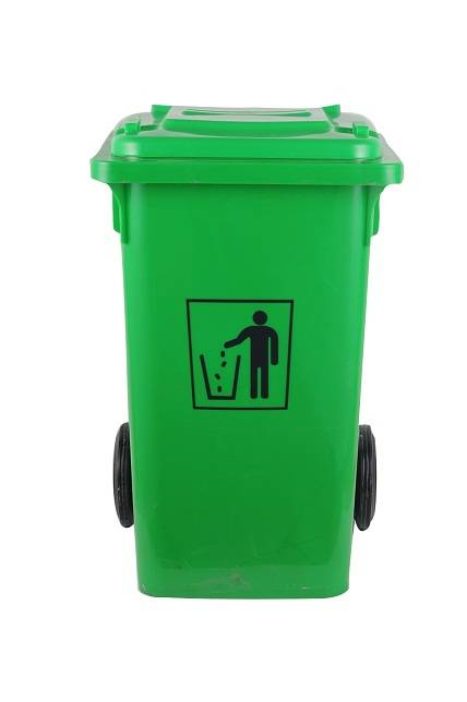 Hot sale 100L durable cheap HDPE plastic dustbin