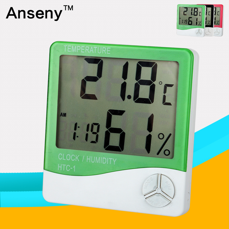Digjtal temperature and humidity meter/electronic thermometer hygrometer/indoor household thermomete