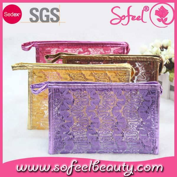 Sofeel fashion custom makeup pouch, cosmetic bag