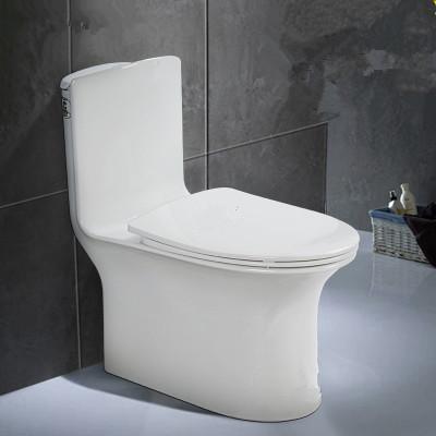 Bathroom sanitary ware siphonic one piece ceramic WC Toilet