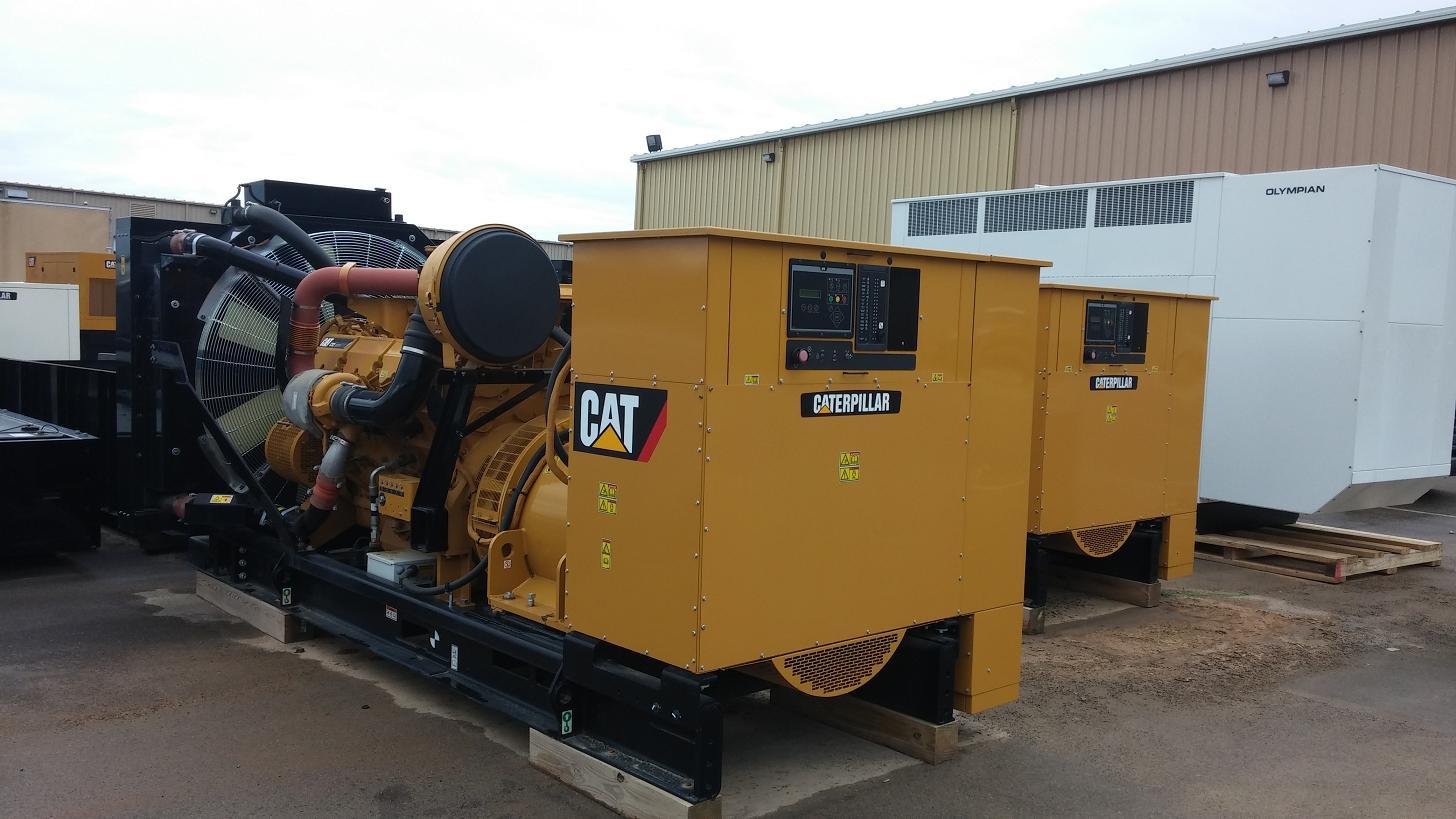 #24150 1000 KW Caterpillar C32 Generator