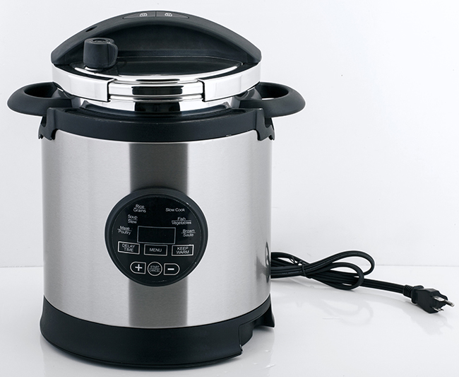 S/S 304 mechanical electric pressure cooker