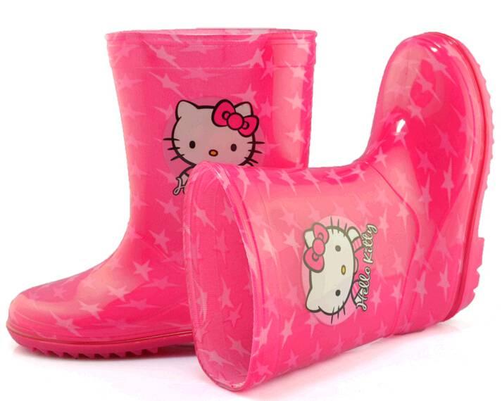 PVC garden shoes plastic rain boots for Japan