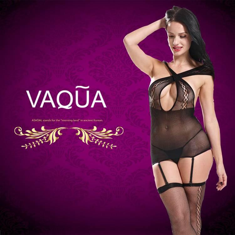 Black Diamond Cutout Suspender Sexy Mature Bodystocking Women