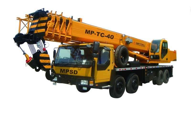 40-TO Truck crane