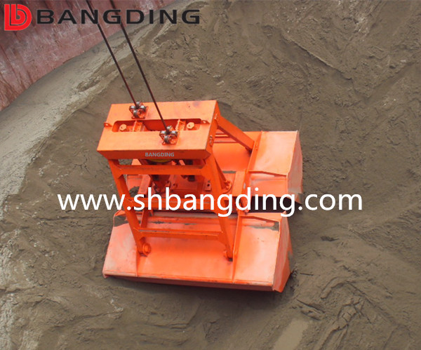 hydraulic radio remote control clamshell grab