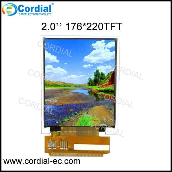 2.0 inch 176x220 TFT LCD MODULE CT020BFG15