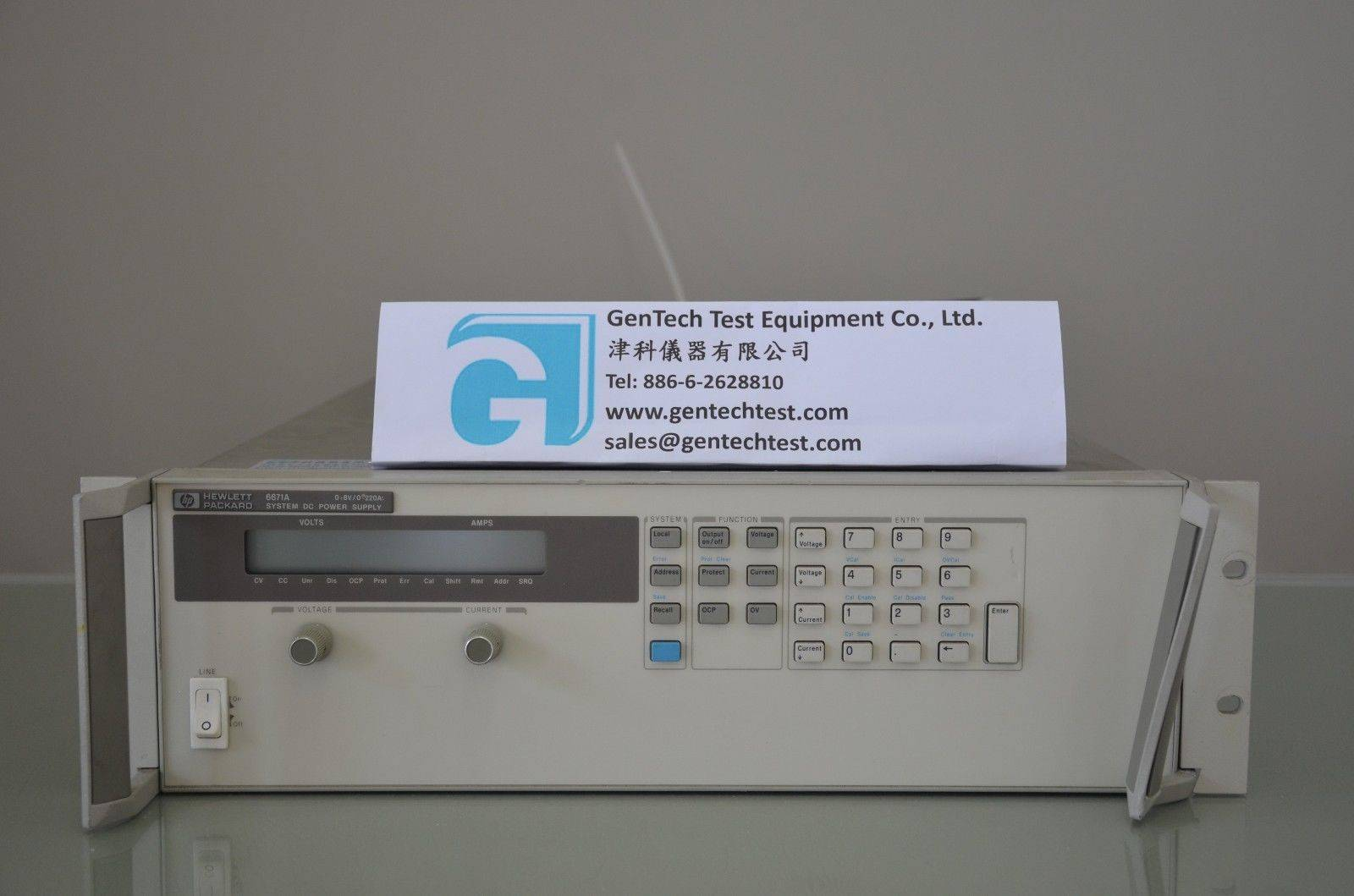 Agilent/HP 6671A 2000 Watt System Power Supply, 5V, 250A