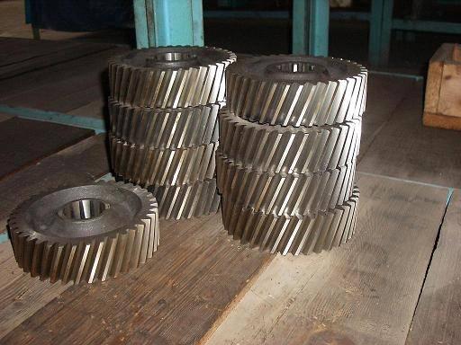 38 teeh gear-tower crane spare parts