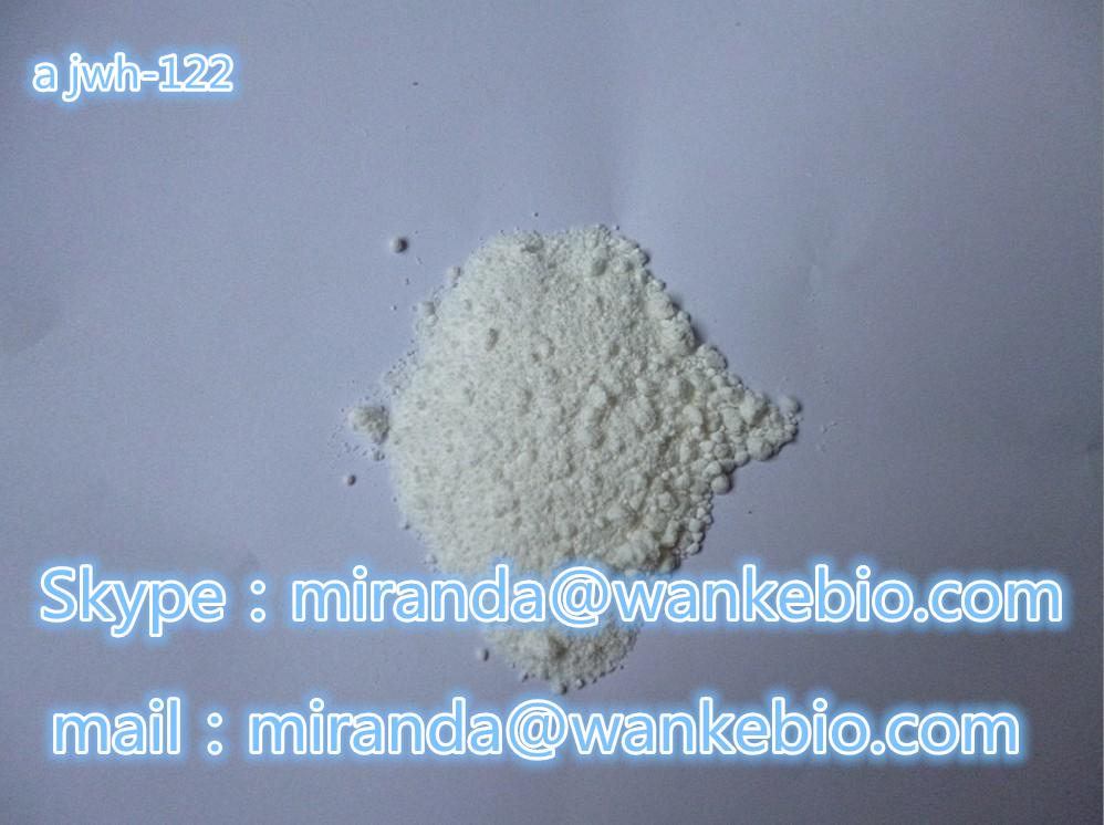 a jwh-122 619294-47-2 C25H25NO mail/skype:miranda(@)wankebio.com