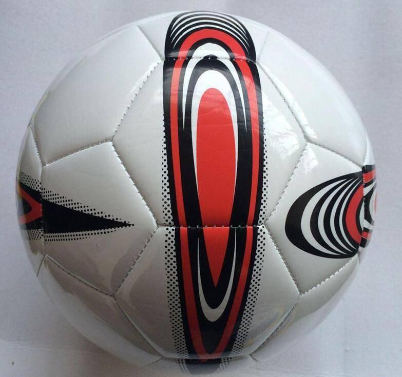 Machine stitched sports ball