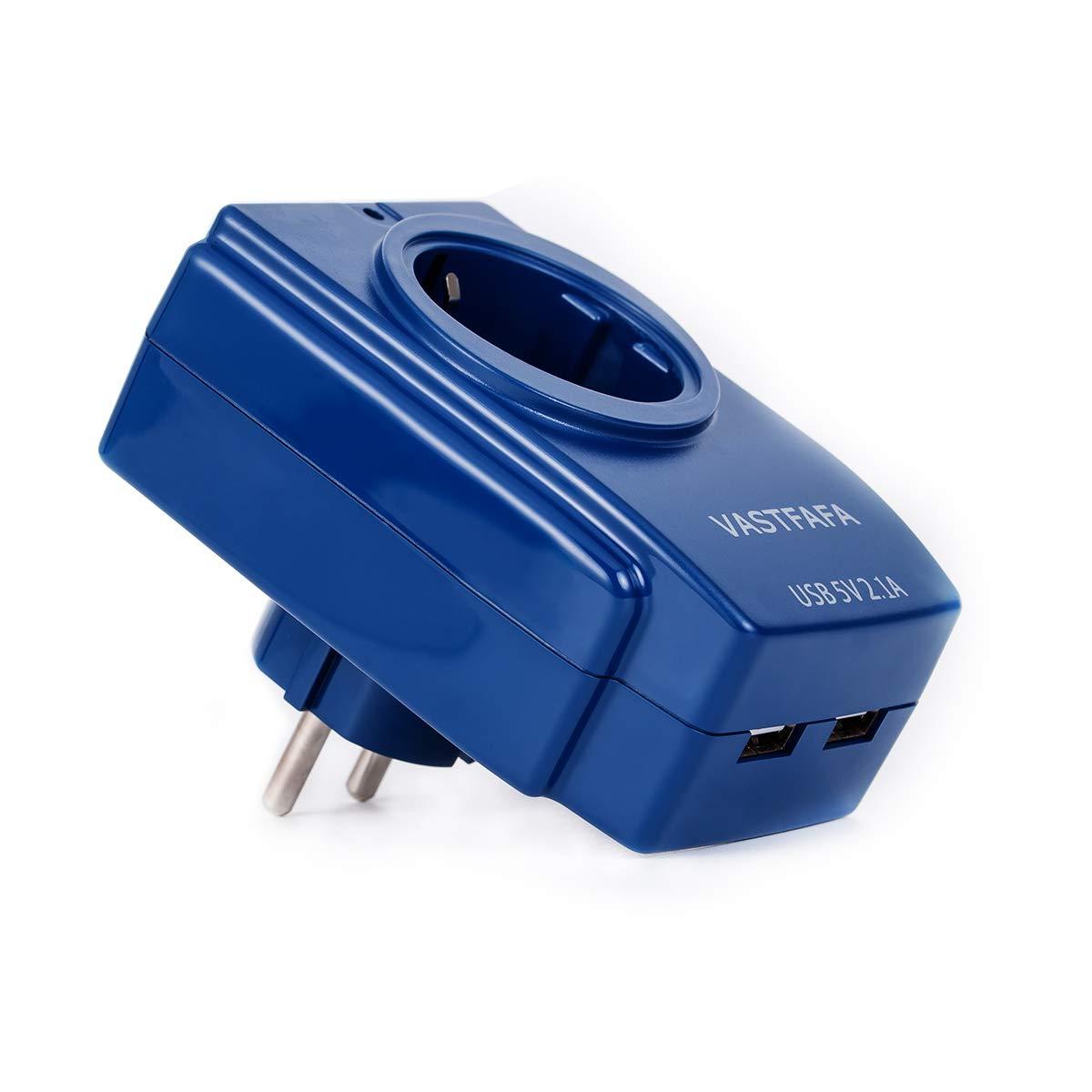 EU Plug Universal Power Travel Adapter of USB Charger