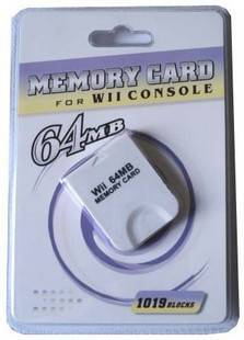 For Wii 64MB Card