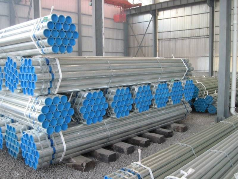 Structure Pipe: A53A hot dip Galvanized steel pipe