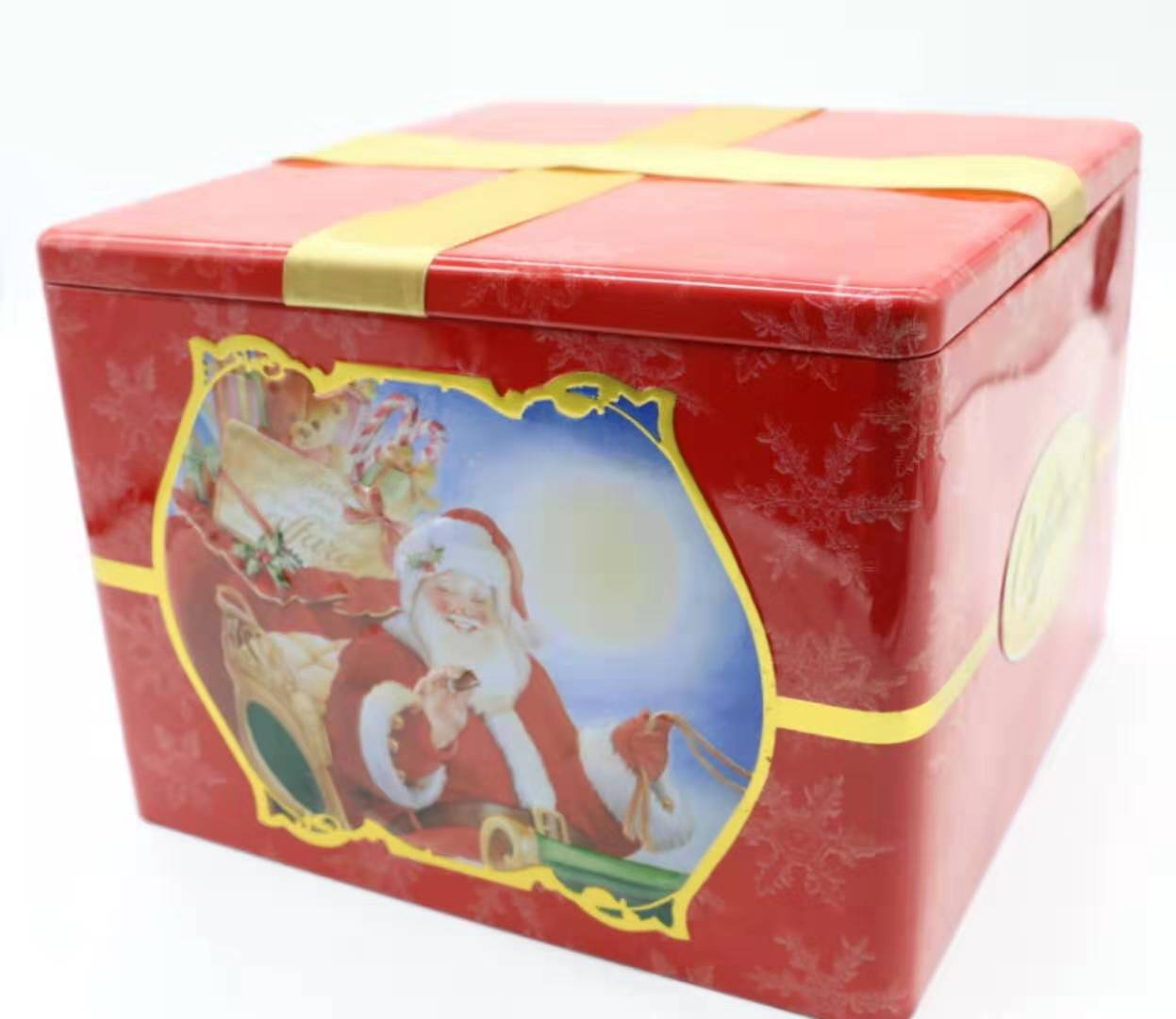 custom Christmas gifts packaging box,Easter decoration tin box,valentine's day gift tin box