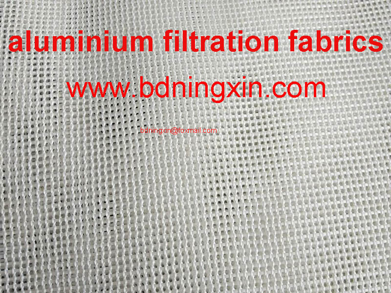 Molten metal filters Aluminum Filtration Woven Fabric and High Temperature Filtration Fabrics For Al